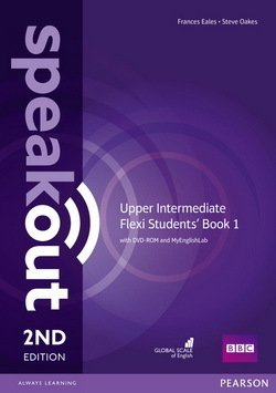 Speakout (2nd Edition) Upper Intermediate Flexi 1 (Split Edition: Coursebook & Workbook) with MyEnglishLab ISBN: 9781292161020