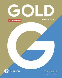 Gold (New Edition) C1 Advanced Coursebook ISBN: 9781292202198