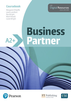 Business Partner A2+ Coursebook with Digital Resources ISBN: 9781292233536