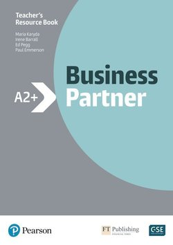 Business Partner A2+ Teacher's Book with MyEnglishLab ISBN: 9781292237176