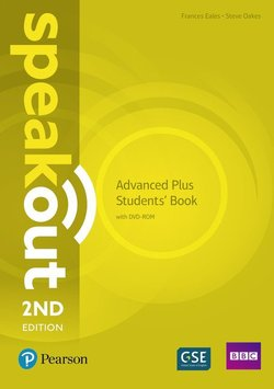 Speakout (2nd Edition) Advanced * PLUS * Coursebook with DVD-ROM & MyEnglishLab ISBN: 9781292241517