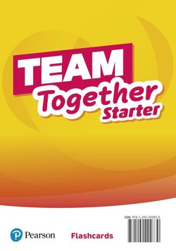 Team Together Starter Flashcards ISBN: 9781292292830