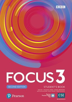 Focus (2nd Edition) 3 Student's Book with Basic Pearson Practice English App ISBN: 9781292301891