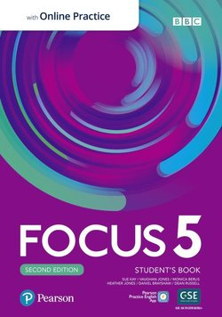 Focus (2nd Edition) 5 Student's Book with Standard Pearson Practice English App ISBN: 9781292301969