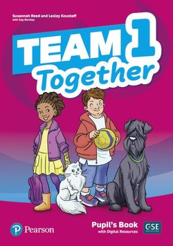 Team Together 1 Pupil's Book with Digital Resources ISBN: 9781292310640