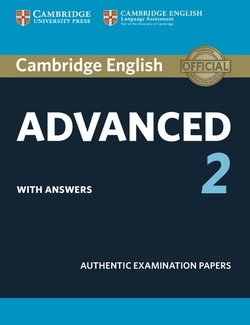 Cambridge English: Advanced (CAE) 2 Student's Book with Answers ISBN: 9781316504505