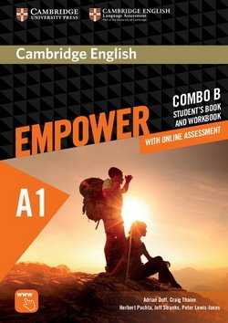 Cambridge English Empower Starter A1 Combo B (Split Edition) (Student's Book B & Workbook B with Online Assessment & Practice) ISBN: 9781316601198