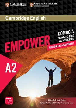 Cambridge English Empower Elementary A2 Combo A (Split Edition) (Student's Book A & Workbook A with Online Assessment & Practice) ISBN: 9781316601228