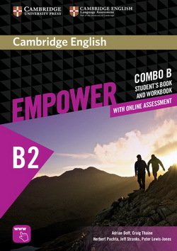 Cambridge English Empower Upper Intermediate B2 Combo B (Split Edition) (Student's Book B & Workbook B with Online Assessment & Practice) ISBN: 9781316601310