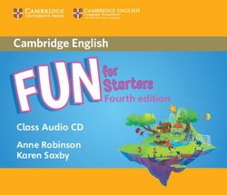 Fun for Starters (4th Edition - 2018 Exam) Audio CD ISBN: 9781316617519
