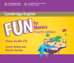 Fun for Movers (4th Edition - 2018 Exam) Audio CD ISBN: 9781316617564