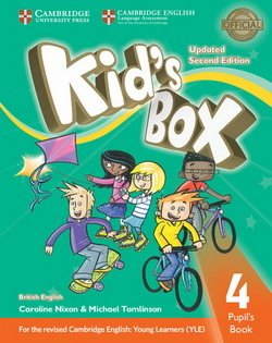 Kid's Box (Updated 2nd Edition for 2018 YLE Exams) 4 Pupil's Book ISBN: 9781316627693