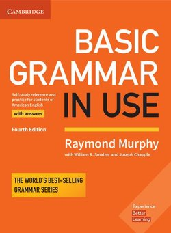 Basic Grammar in Use (4th Edition) Student's Book with Answers ISBN: 9781316646748