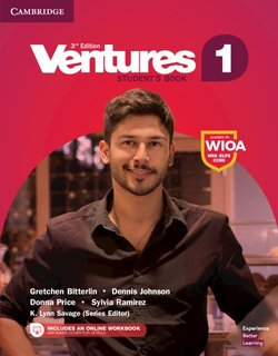 Ventures (3rd Edition) 1 Digital Value Pack (Student's Book with Online Workbook) ISBN: 9781316997925