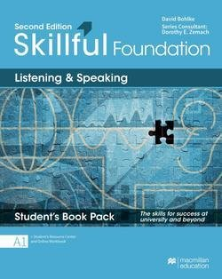 Skillful (2nd Edition) Foundation (Beginner) Listening and Speaking Premium Student's Book Pack ISBN: 9781380010285
