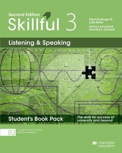 Skillful (2nd Edition) 3 (Upper Intermediate) Listening and Speaking Premium Student's Book Pack ISBN: 9781380010704