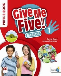 Give Me Five! 1 Basics Pupil's Book Pack ISBN: 9781380013491