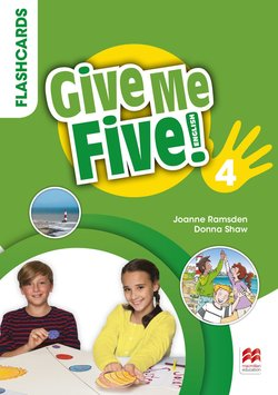Give Me Five! 4 Flashcards ISBN: 9781380025050