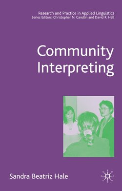 Community Interpreting ISBN: 9781403940698