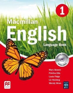 Macmillan English 1 Language Book ISBN: 9781405013673