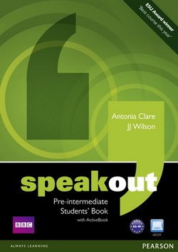 Speakout Pre-Intermediate Students Book with DVDActiveBook ISBN 9781408219324