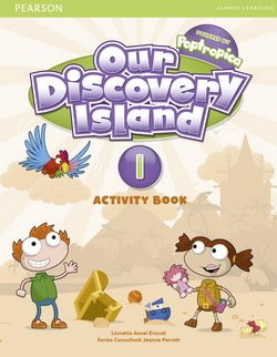 Our Discovery Island 1 Activity Book with CD-ROM  ISBN: 9781408251263