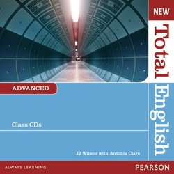 New Total English Advanced Class Audio CDs ISBN: 9781408254301