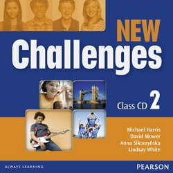 New Challenges 2 Class Audio CDs ISBN: 9781408258521