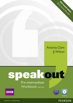 Speakout Pre-Intermediate Workbook with Answer Key & Audio CD ISBN: 9781408259511