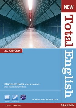 New Total English Advanced Student's Book with ActiveBook Multi-ROM ISBN: 9781408267141