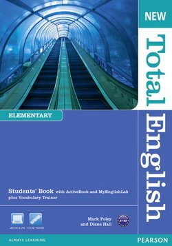 New Total English Elementary Student's Book with ActiveBook CD-ROM & MyLab Access ISBN: 9781408267158