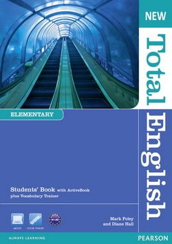 New Total English Elementary Student's Book with ActiveBook CD-ROM  ISBN: 9781408267165