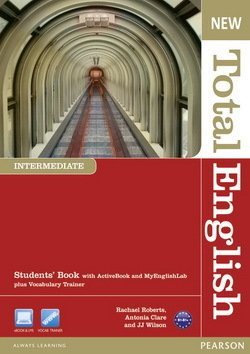 New Total English Intermediate Student's Book with ActiveBook CD-ROM & MyLab Access ISBN: 9781408267172