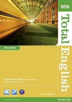 New Total English Starter Student's Book with ActiveBook Multi-ROM ISBN: 9781408267219