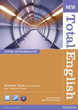 New Total English Upper Intermediate Student's Book with ActiveBook CD-ROM ISBN: 9781408267240