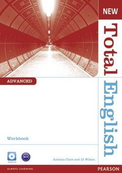 New Total English Advanced Workbook without Answer Key with Audio CD ISBN: 9781408267325