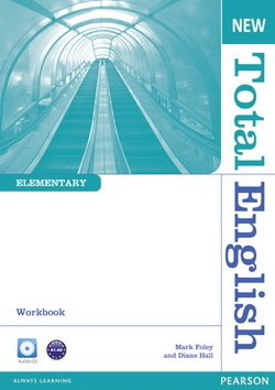 New Total English Elementary Workbook without Answer Key with Audio CD ISBN: 9781408267349