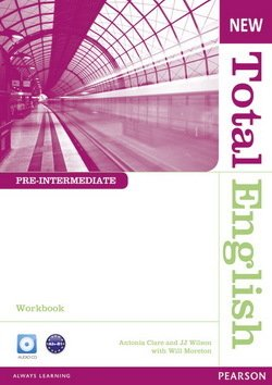 New Total English Pre-Intermediate Workbook without Answer Key with Audio CD ISBN: 9781408267387