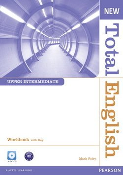New Total English Upper Intermediate Workbook with Answer Key & Audio CD ISBN: 9781408267417