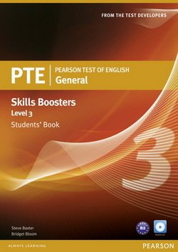 Pearson Test of English (PTE) General Skills Booster Level 3 Student's Book ISBN: 9781408267837