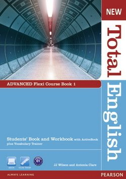New Total English Advanced Flexi Student's Book 1  ISBN: 9781408285817