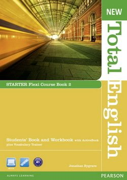 New Total English Starter Flexi (Split Edition) Student's Book 2 ISBN: 9781408285855