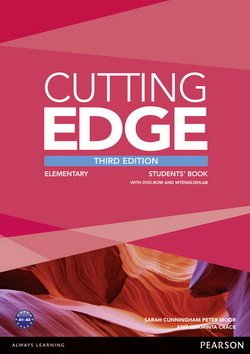 Cutting Edge (3rd Edition) Elementary Student's Book with Class Audio & Video DVD ISBN: 9781447936831
