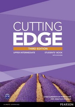 Cutting Edge (3rd Edition) Upper Intermediate Student's Book with Class Audio & Video DVD ISBN: 9781447936985