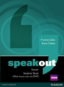 Speakout Starter Students Book eText Access Card with DVD ISBN 9781447941965