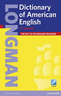 Longman Dictionary of American English (5th Edition) Paperback with Online Access  ISBN: 9781447948100