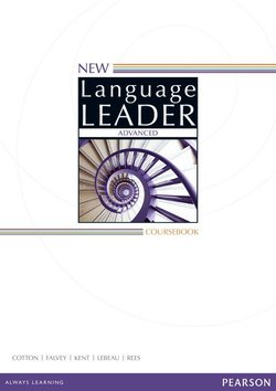 New Language Leader Advanced Coursebook with Online Audio & Video ISBN: 9781447948162