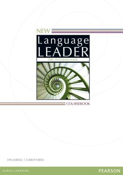 New Language Leader Pre-Intermediate Coursebook with Online Audio & Video ISBN: 9781447948650
