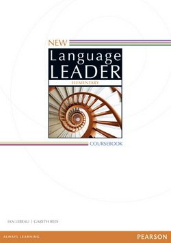 New Language Leader Elementary Coursebook ISBN: 9781447961468