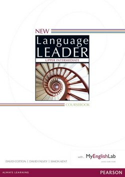 New Language Leader Upper Intermediate Coursebook with MyEnglishLab ISBN: 9781447961543